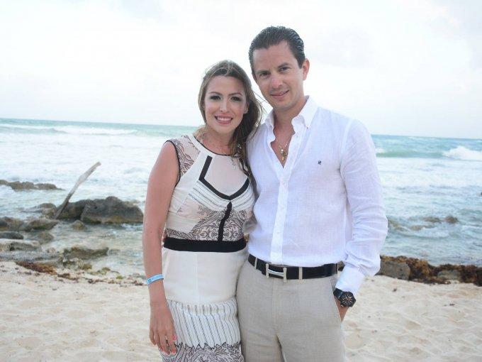 Mariana Avellá y Alejandro Lamb