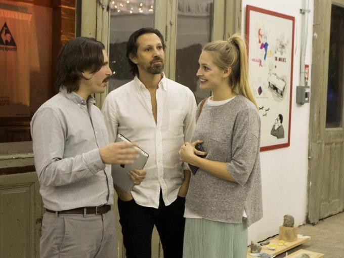Alejandro Champion con Darío y Joana Cantú