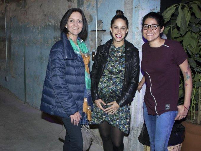 Grisell Neumann, Andrea Bardasano y Nelly Plascencia