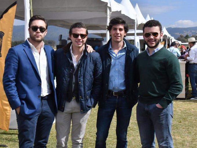 Marco Haddad, Antonio Cornejo, Gonzalo Santisteban y Tito Ramírez