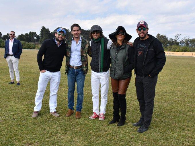 Gustavo Ribeiro, Abelardo Marcondes, Toño Madrazo, Alexis Head y Víctor Septién