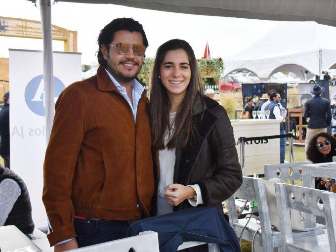 Juan Carlos Arroyo y Lucía Gómez