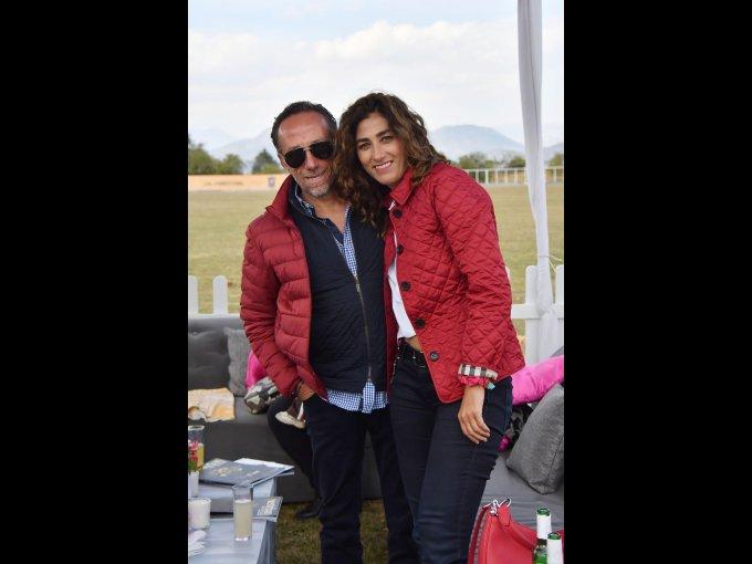 Manuel Sanz y Lorena Sanz