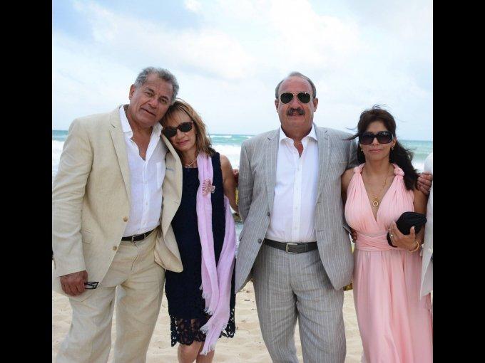 Carlos Álvarez, Patricia Gutiérrez, Hernando Arana y Alejandra Flores