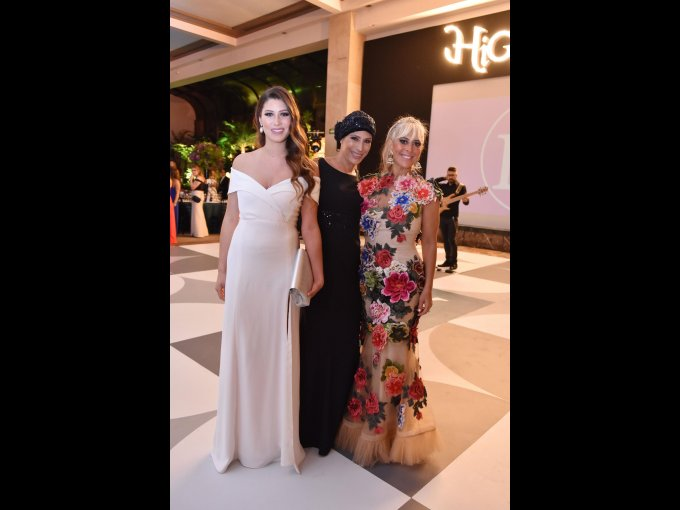 Claudia Ricaud, Valeria Higareda y Floriana Arias