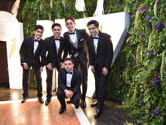Héctor Reyes, Antonio Medina, Emilio García, Roberto Mesinas y José Carlos Zepeda
