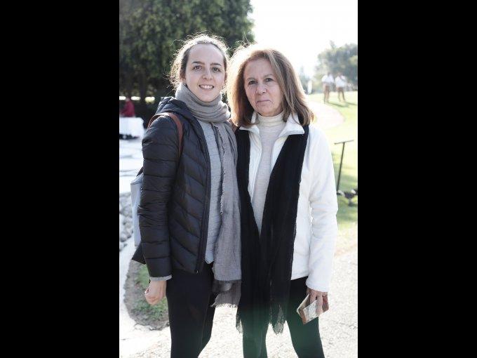 Jimena Fernández y Luz María Autrique