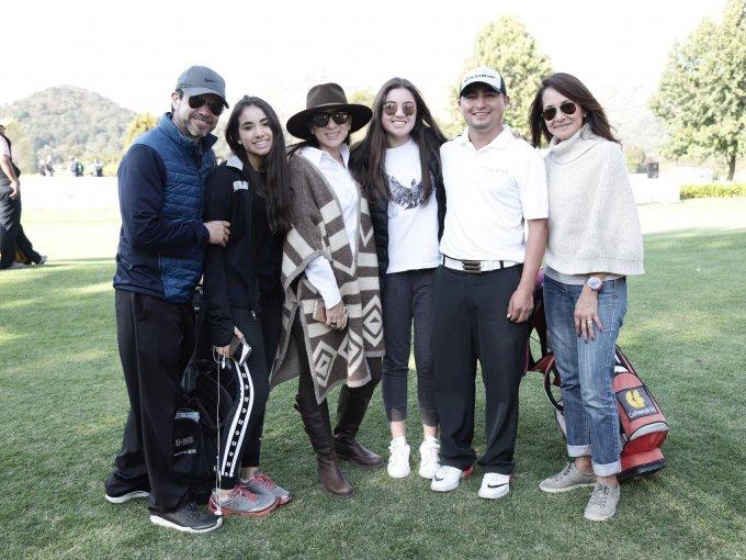 José Luis García, Joana García, Layla García, Michelle García, Cristian Romero y Fabiola Alanís