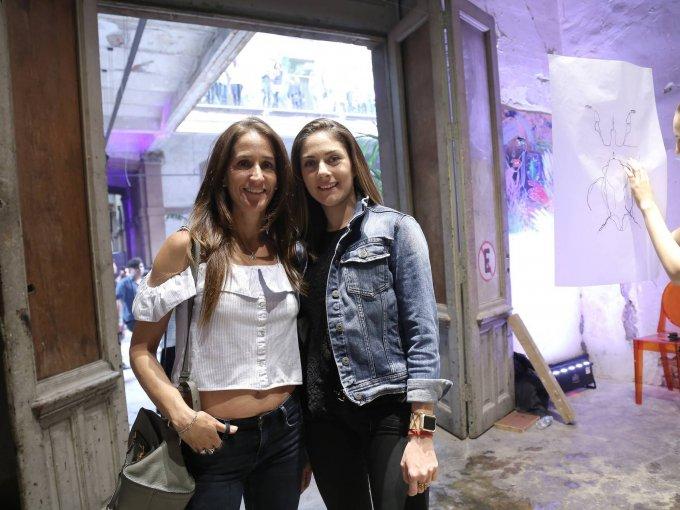 Ilana Helfon y Sharon Sacal