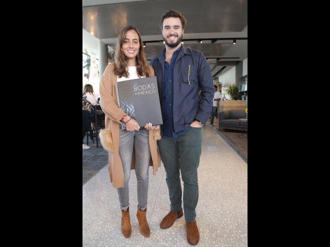 Jimena Antón y Marcos Alcocer