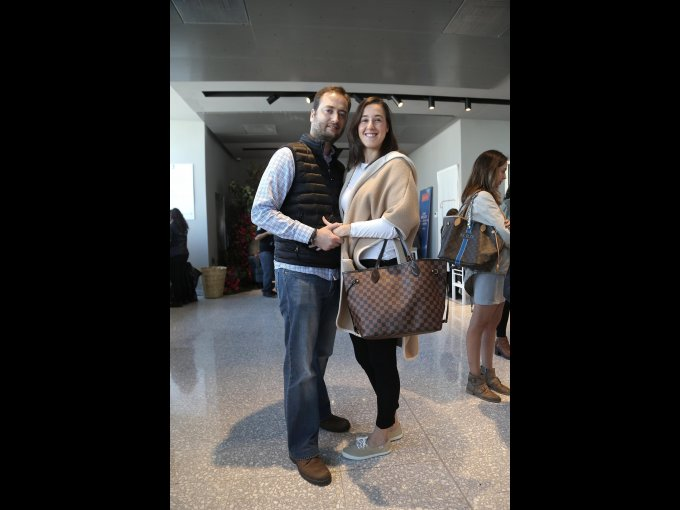 Juan Arizaleta e Isabel Rodríguez