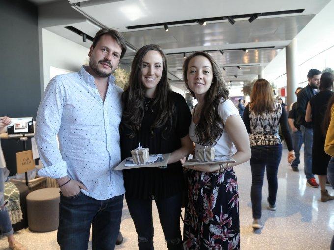 Gerardo Edl, Fernanda Guzmán y Daniela Rodríguez