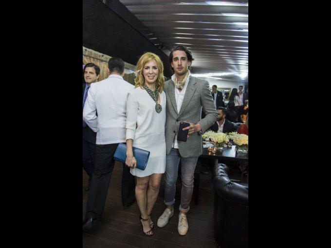 Mónica López y Patricio Cortazar