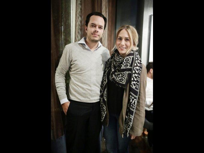 Claudio Serviere y Natalia Arana