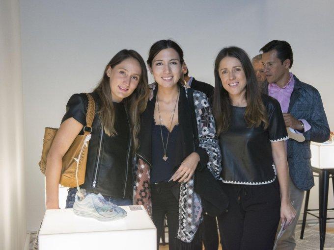 Anne Rodríguez, Renata Torrescano y Adriana Soto