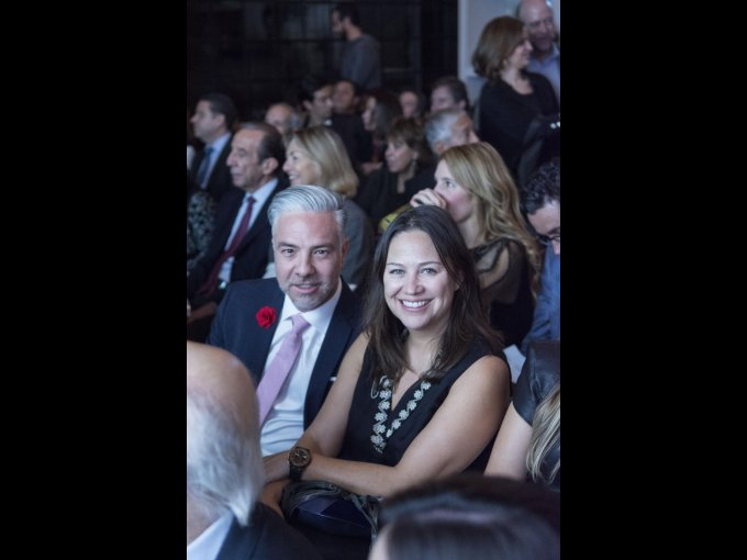 Rafa Pineda con Mara Yáñez