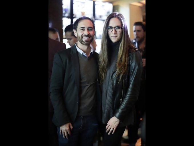 Iker Iglesias y María José Salcedo