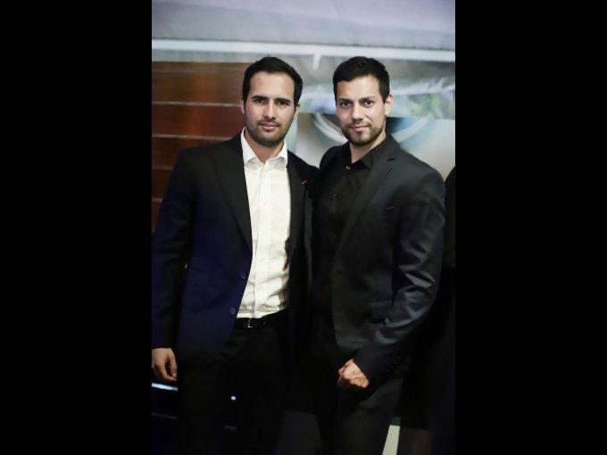 Alejandro Lomelín e Hike Rivas