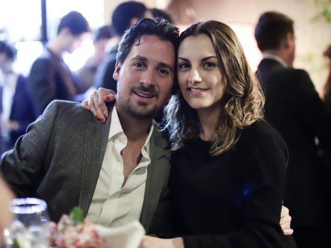Rodrigo Guerra y Sofía Duarte