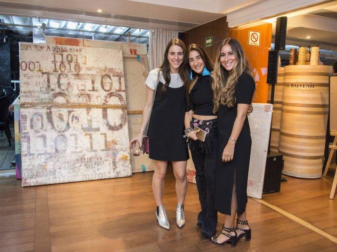 Daniela Helfon, Melanie Cohen y Claudia Flores
