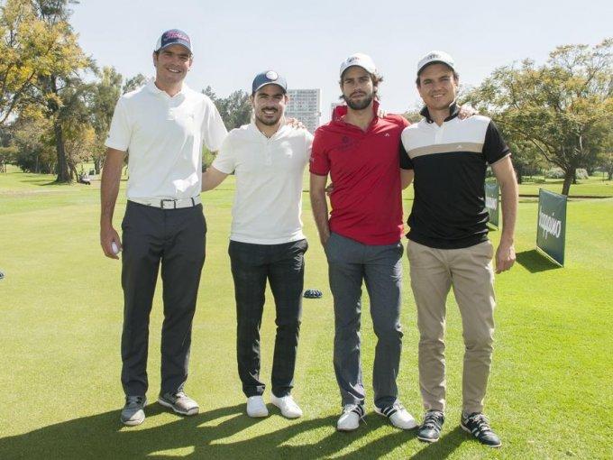 Juan Pedro, Nicolás Plasencia, Jorge Arregui y Jorge Lomelí