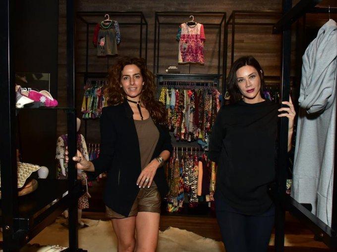Paola Saad y Carla Henkel