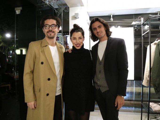 Alfredo Rosales, Alejandra Rosales y Domingo de la Garza