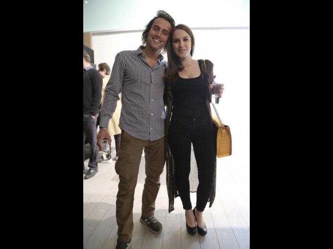 Eduardo Junyent y Paola Figueras