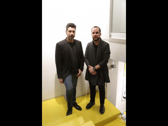 Polo Vidal y Beto Adame