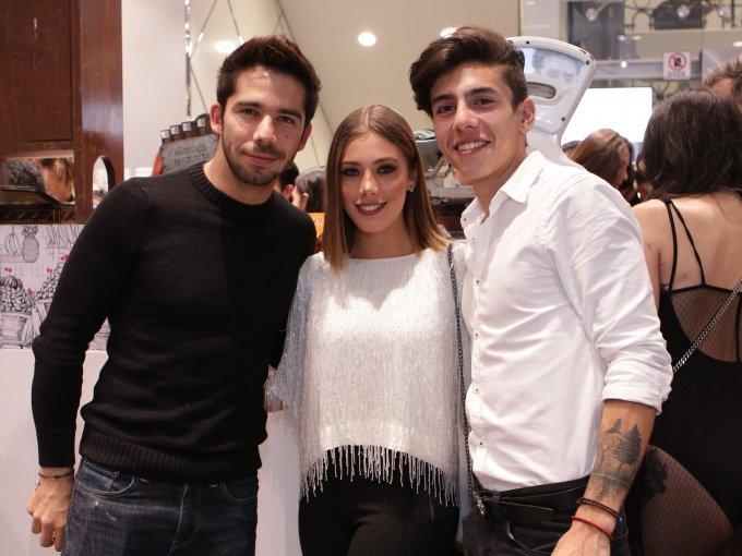 Ruy Senderos, Ariana Escalante y Sebashua Tello