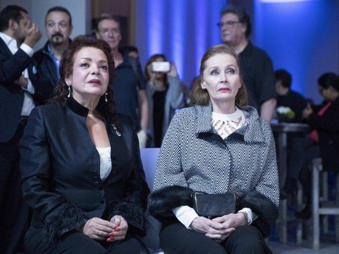 Laura Fernández y Rebeca Mena