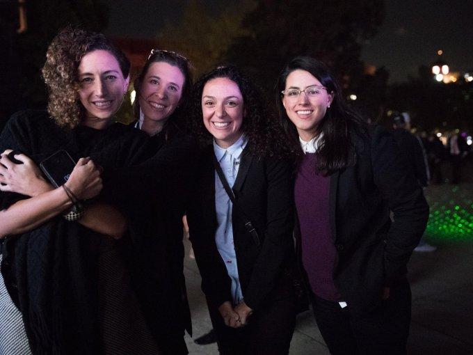 Sofía Sancho, Marina Armendáriz, Mercedes Sáenz y Alejandra Río