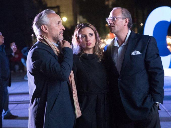 Nicolás Vale, Fernanda Nader y Mauricio Nader