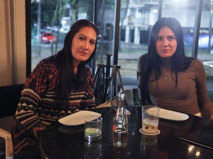 Sandra García y Katia Núñez