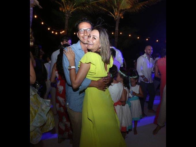 Alejandro Toledo y Daniela Regil