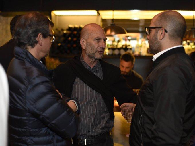 Jorge Rico, Isaac Broid y Antonio Flores