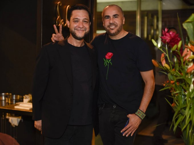 Keko Demichelis con Ricardo Seco