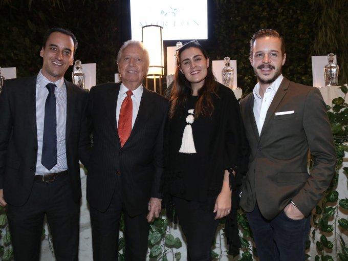 Santiago de Haro, Manuel Weinberg, Marina Silva y Juan Diego Lebrija