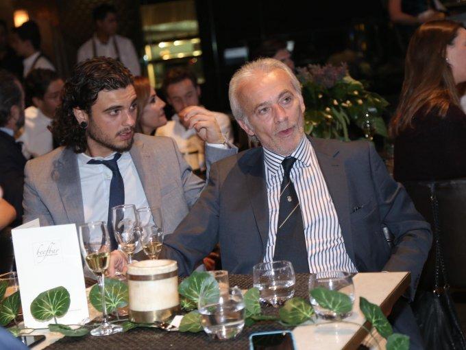 Claudio Mencarelli y Giampiero Mencarelli