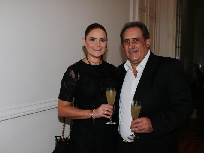 Victoria Aveleyra y Ernesto Elorduy