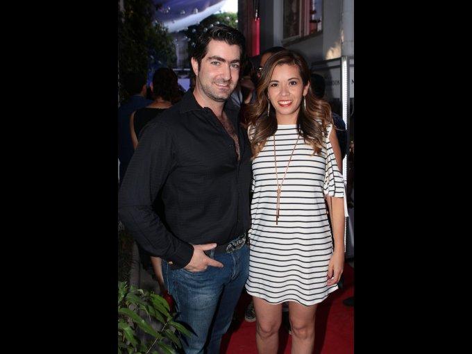 Carlos Jacobo y Claudia Ángeles