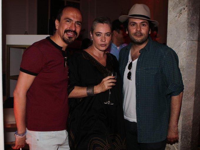 Felipe Colsa, Alejandra Henaro y Gerardo Sarur