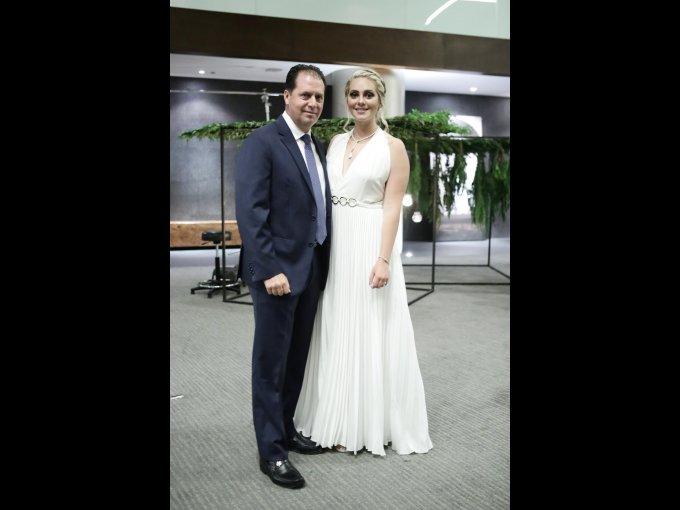 Jorge Rendón y Karla Rendón