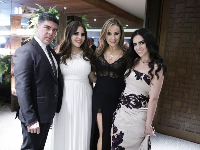Aurelio Rosendo, María Rosendo, Gemma Rosendo y Sofía Rosendo