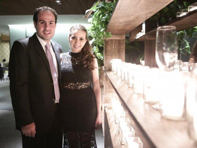 Simón Rufeil y Adriana Villaseñor