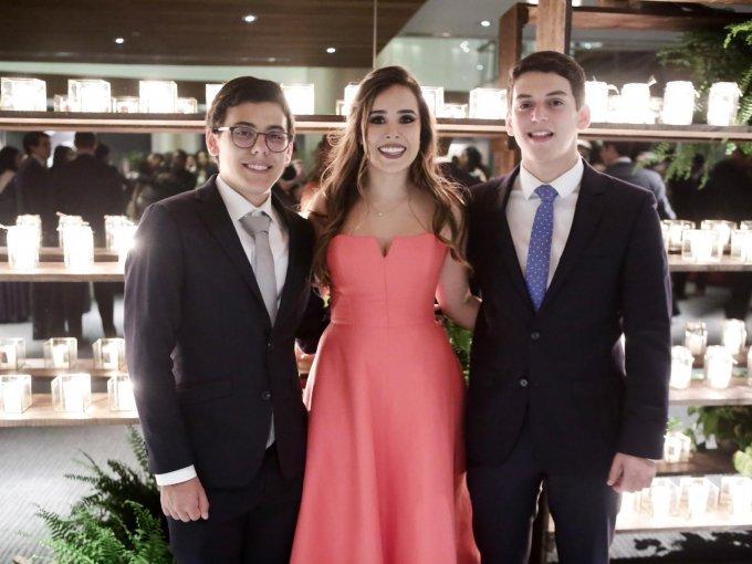 Juan Pablo Cajiga, Fernanda Ramírez y Sebastián Guzmán