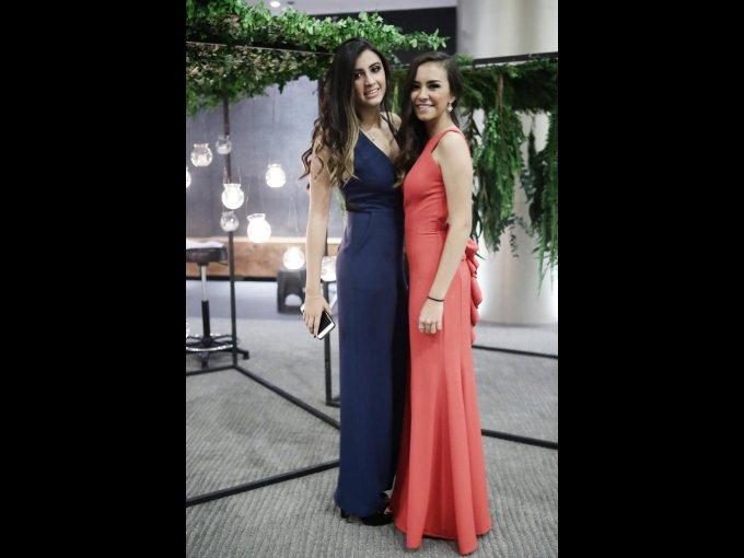 Valeria Giacopello y Sofía Ordóñez