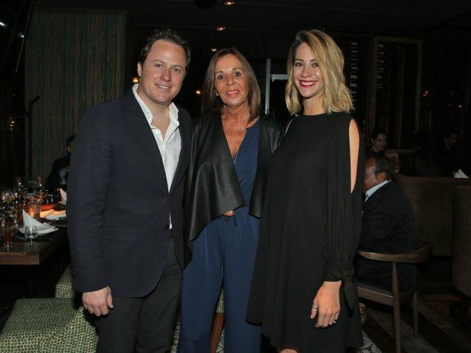 Santiago Camou, Regina Valenzuela y Bárbara Laborín