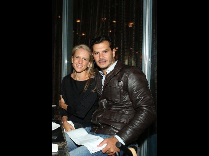 Denisse Bouffier y Fernando Fernández
