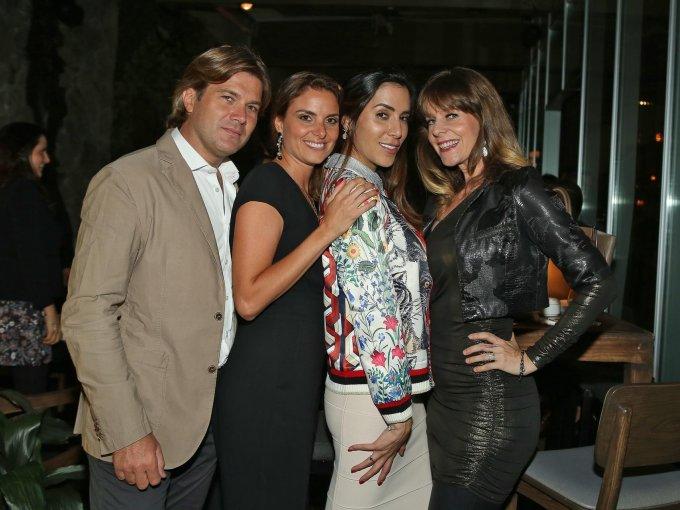 Mauro Pizzuto, Francesca La Torre, Marimar Turati y Rachel Grace